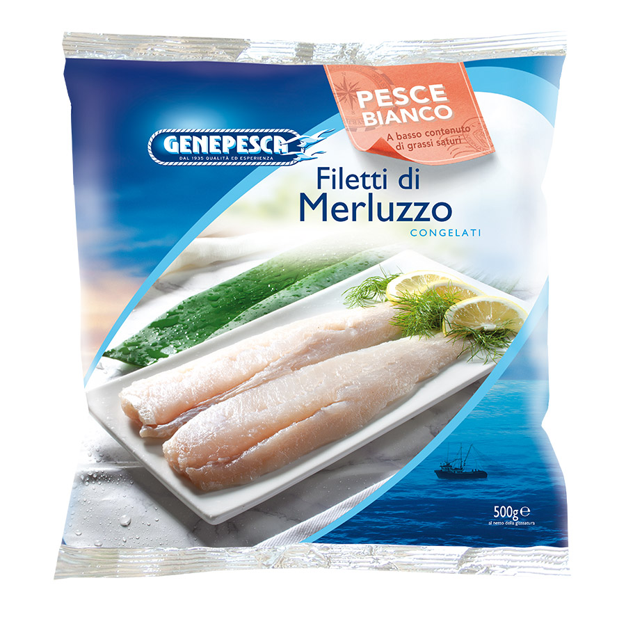 GENEPESCA FILETTO MERLUZZO