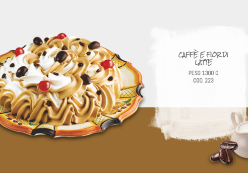 Torta Caffè E Fior Di Latte