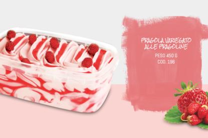 Vaschetta Fragola Variegato Alle Fragole Sigel 450 Gr