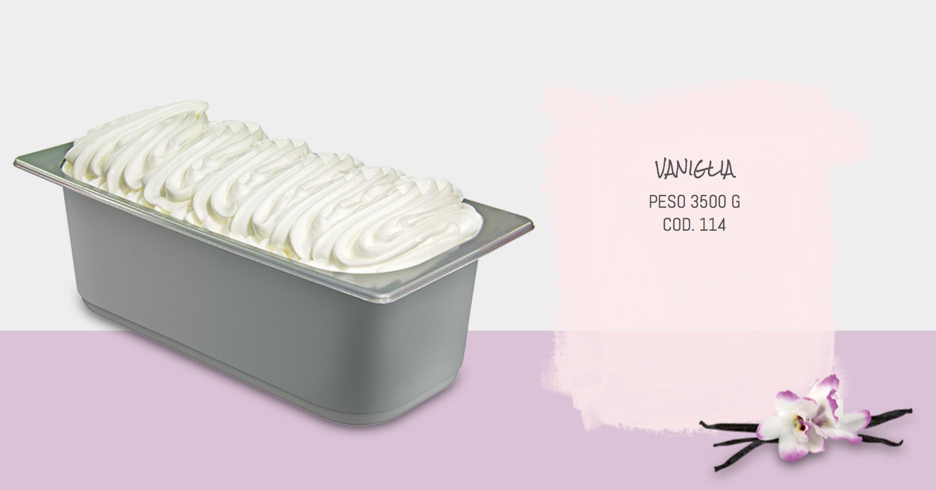 Mantecato Vaniglia