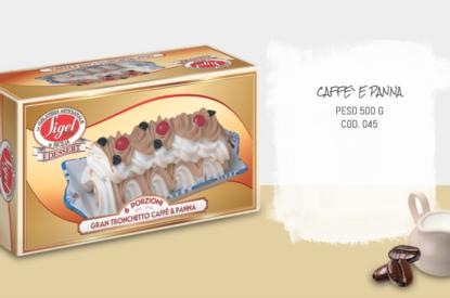 Tronchetto Caffè E Panna 500gr