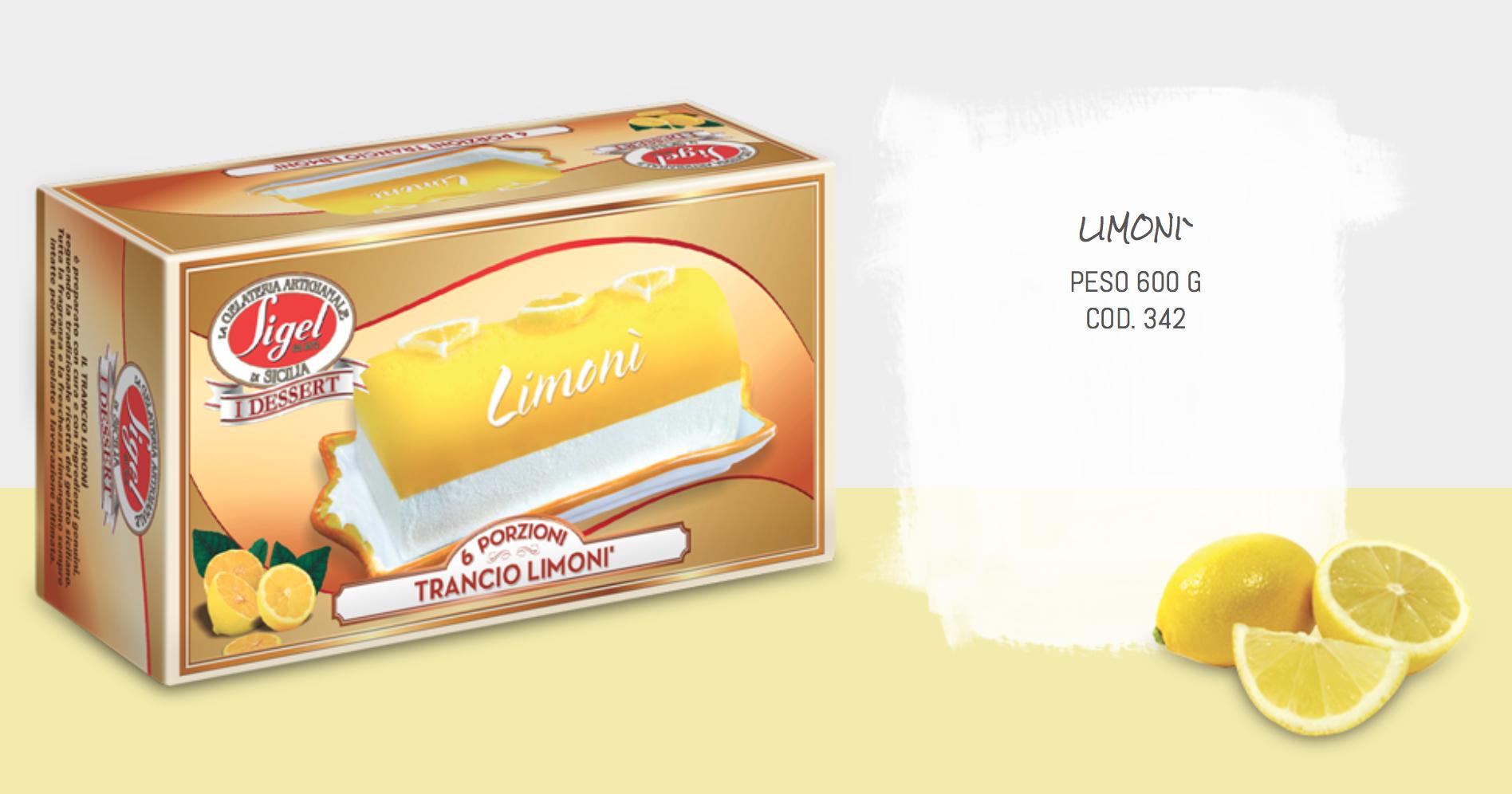 Tronchetto Limone 500gr