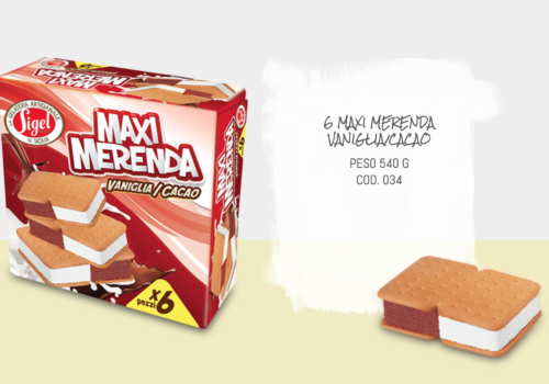 6 Maxi Merenda Vaniglia Cacao
