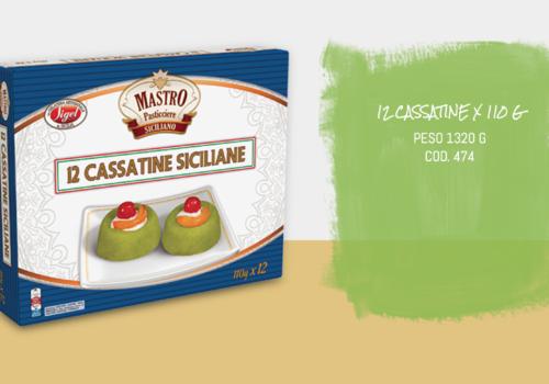 12 Cassatine Siciliane