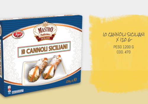 10 Cannoli Siciliani
