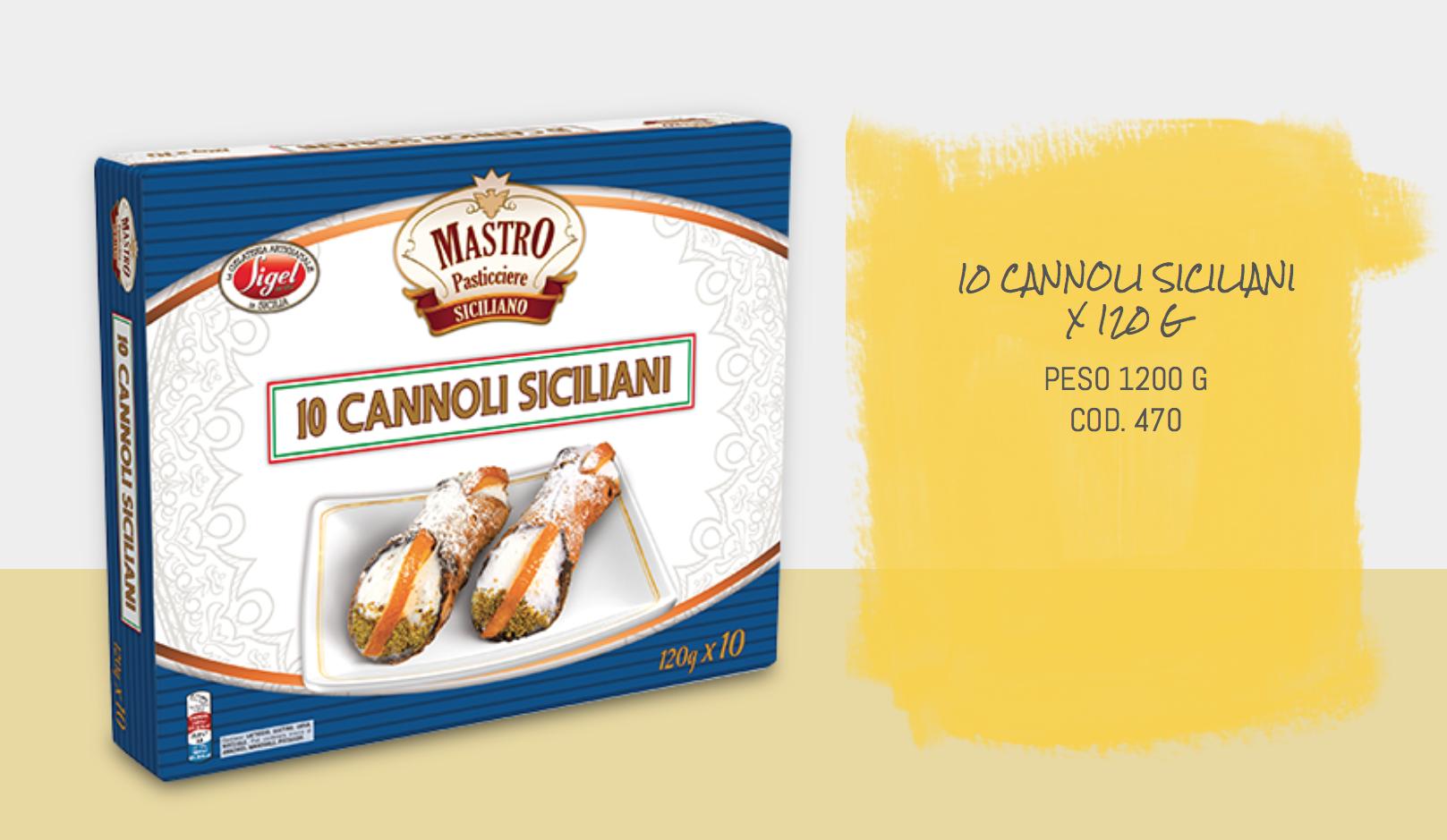 10 Cannoli Siciliani