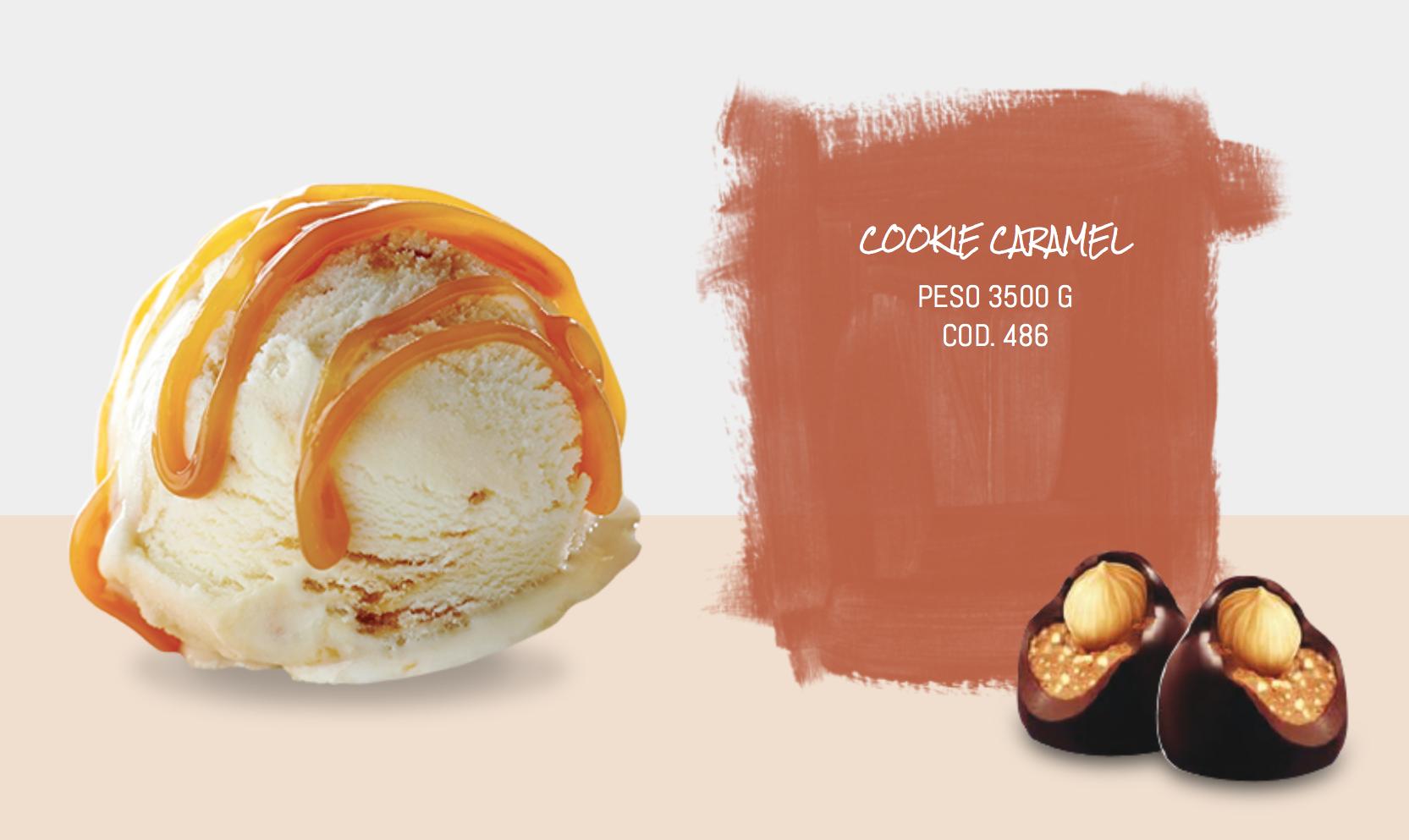 Mantecato Cookie Caramel
