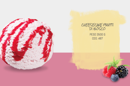 Mantecato Cheescake Frutti Di Bosco