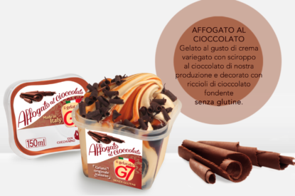 Gelato Affogato Al Cioccolato In Monoporzione 80gr G7
