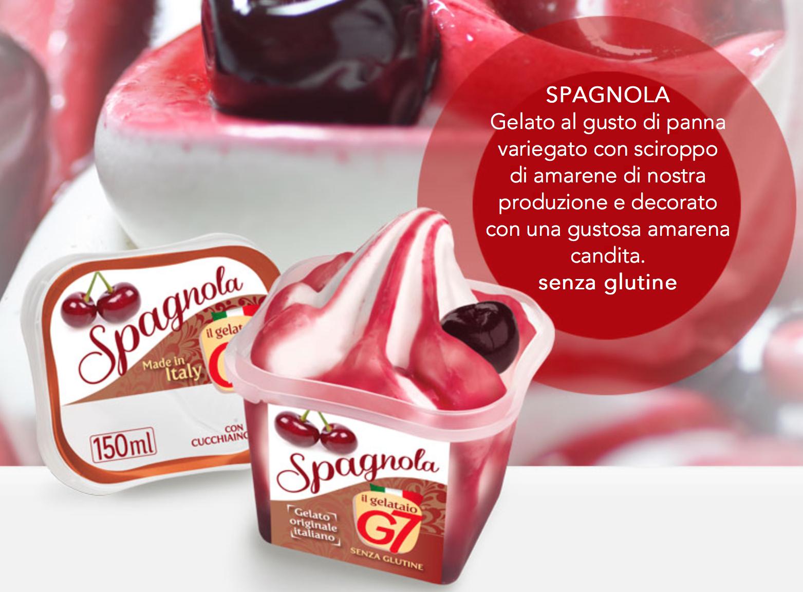 Gelato Spagnola In Monoporzione 80gr G7