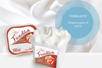 Gelato Fiordilatte In Monoporzione 80gr G7