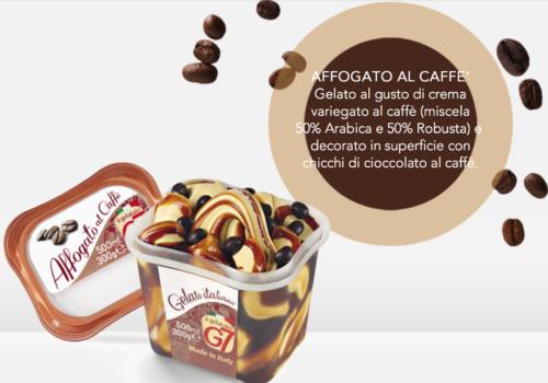 Gelato Affogato Al Caffè In Vaschetta 300gr G7