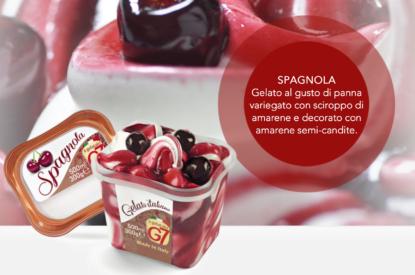 Gelato Spagnola In Vaschetta 300gr G7