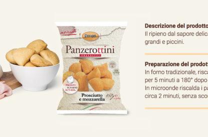 Panzerottini Prosciutto E Mozzarella Florigel