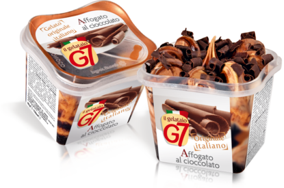 Gelato G7 Affogato Cioccolato Monoporzione