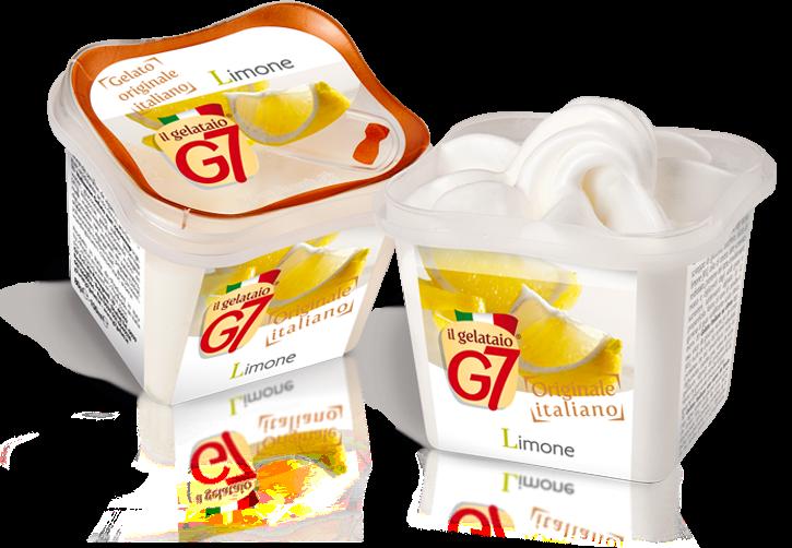 Gelato Limone G7 Monoporzione