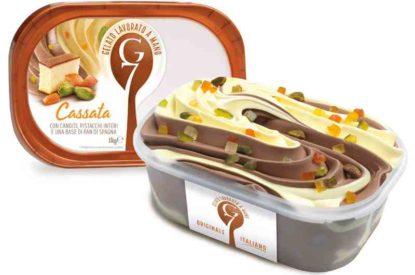 Gelato G7 1kg Cassata