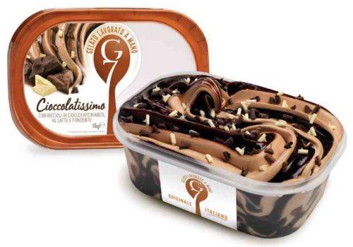 Gelato G7 1kg Cioccolatissimo