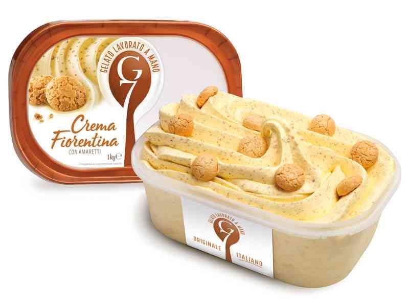 Gelato G7 1kg Crema Fiorentina