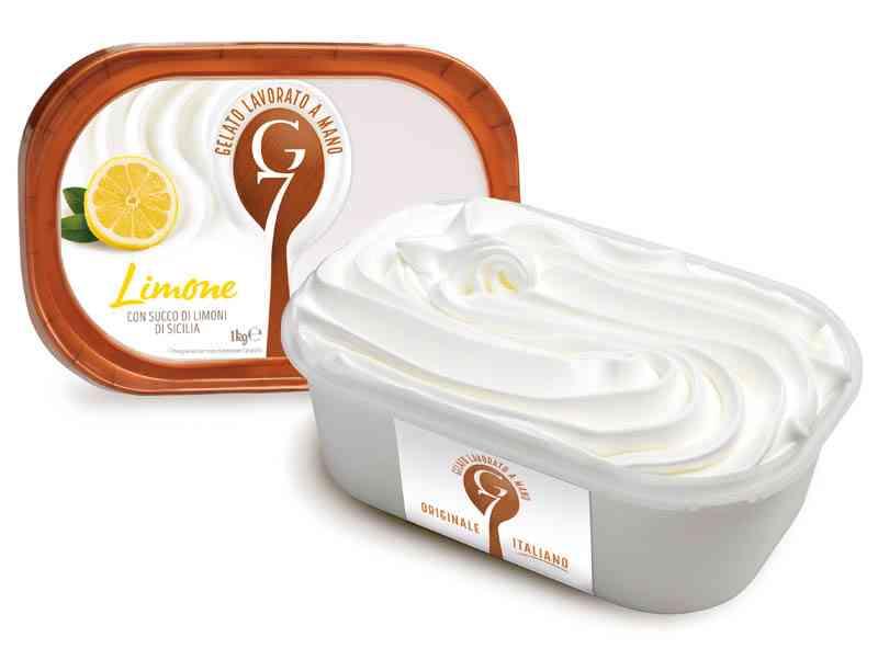 Gelato G7 1kg Limone Sicilia