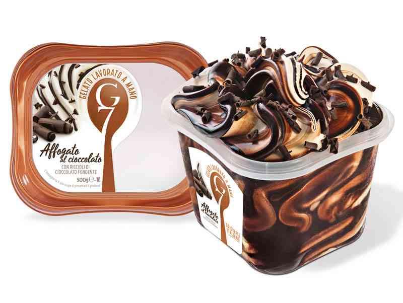 Gelato G7 500g Affogato Cioccolato