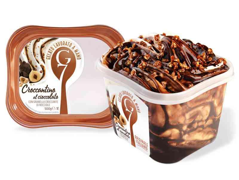 Gelato G7 500g Croccantino Cioccolato
