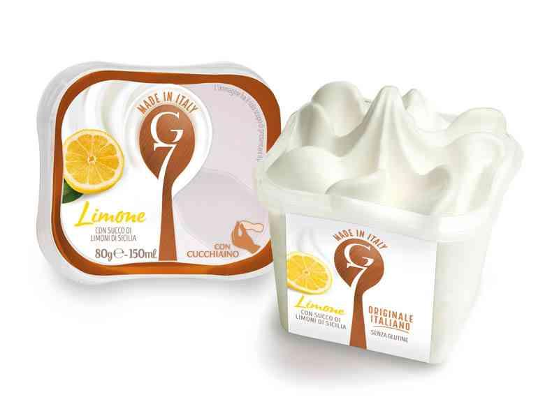 Gelato G7 80g Monodose Limone