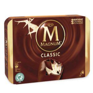 ALGIDA 4 MAGNUM CLASSICO