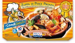 ESCA ZUPPA DI PESCE PRONTA GR.550X6